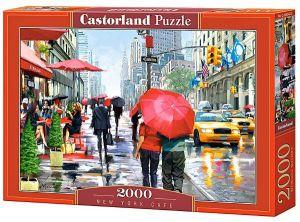 Puzzle Castorland 2000 dílků  Kavárna v New Yorku 200542