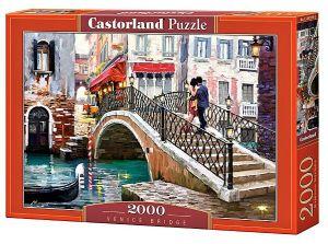 Puzzle Castorland 2000 dílků  Most v Benátkách 200559