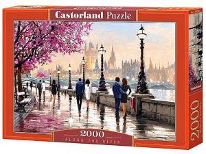 Puzzle Castorland 2000 dílků  Podél řeky  200566