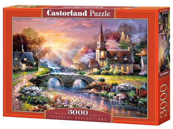 Puzzle Castorland 3000 dílků - Klidné místo 300419