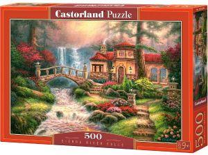 Puzzle Castorland 500 dílků  Vodopády na řece Sierra  52202