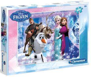 Puzzle Clementoni 100 dílků  - Frozen  07243