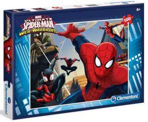 Puzzle Clementoni 100 dílků  - Spiderman 07246