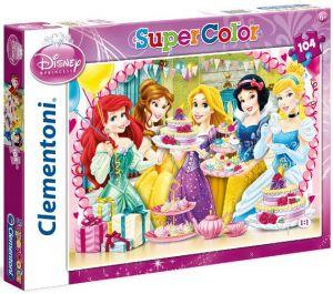 Puzzle Clementoni 104 dílků  -  Princezny 27914