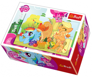 Puzzle mini 54 d - Trefl - My Little Pony   19465