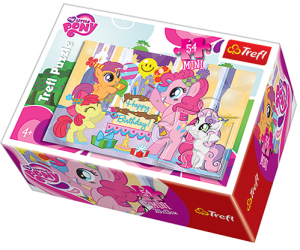 Puzzle mini 54 d - Trefl - My Little Pony   19466
