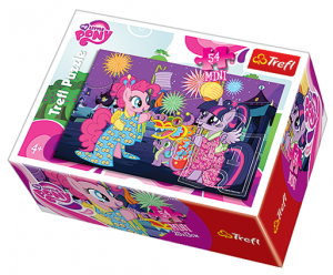 Puzzle mini 54 d - Trefl - My Little Pony   19467