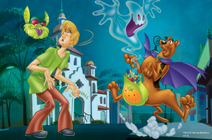 Puzzle mini 54 d - Trefl - Scooby Doo 19421