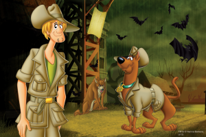 Puzzle mini 54 d - Trefl - Scooby Doo 19423