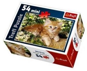 Puzzle mini 54 d - Trefl - Sladká štěňátka / kočičky 19426