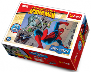 Puzzle mini 54 d - Trefl - Spiderman 19375