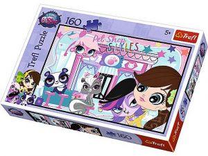 Puzzle   Trefl  160 dílků -  Littlest Pet Shop  15326
