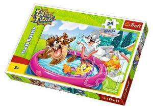 Puzzle Trefl 24 MAXI dílků  -  Looney Tunes  14238