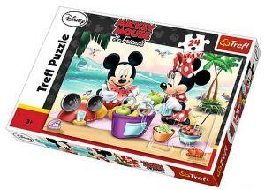 Puzzle Trefl 24 MAXI dílků  -  Mickey  14236