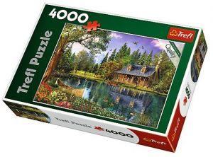 Puzzle TREFL 4000 dílků - Odpolední idyla  45005
