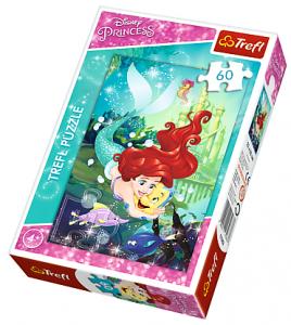 Puzzle Trefl 60 dílků  - Ariel  17283