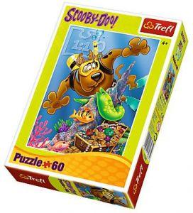 Puzzle Trefl 60 dílků  - Scooby Doo  17287