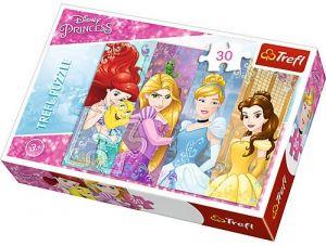 Trefl puzzle  30 dílků  - Princezny  18205