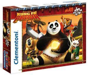 CLEMENTONI Dětské Maxi puzzle  24 dílků Kung Fu Panda 24042