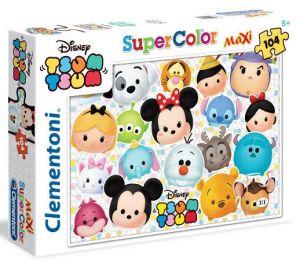 CLEMENTONI Dětské MAXI puzzle Tsum Tsum  104 dílků 23975