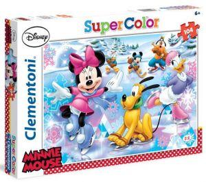 Clementoni Puzzle  104 dílků - Minnie  27953