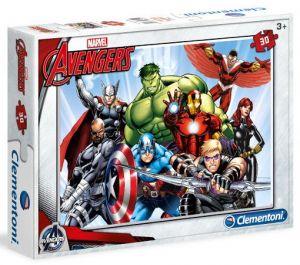 Clementoni puzzle 30 dílků - Avengers 08506