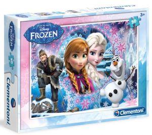 Clementoni puzzle 30 dílků - Frozen   08504