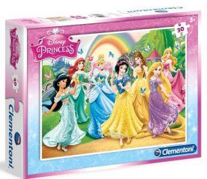 Clementoni puzzle 30 dílků - Princezny 08503