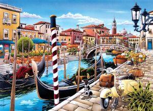 CLEMENTONI Puzzle 500 dílků Laguna v Benátkách 35026
