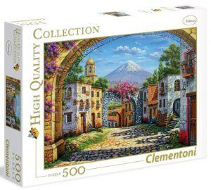 CLEMENTONI Puzzle 500 dílků  Sopka  35025