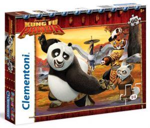 Clementoni puzzle Supercolor 60 dílků Kung Fu Panda  26942