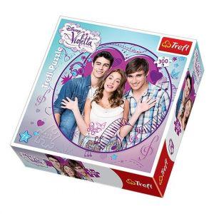 Konturové puzzle TREFL 300 dílků - Violetta 39101