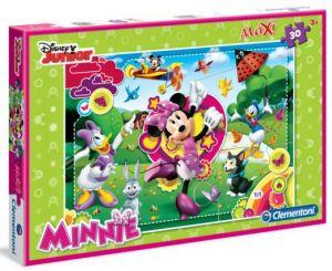 Podlahové puzzle Clementoni 30  dílků MAXI  - Minnie Mouse 07427