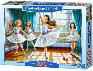 Puzzle Castorland 260 dílků -  4 malé baletky  27231