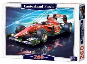 Puzzle Castorland 260 dílků -  Červená formule  27255