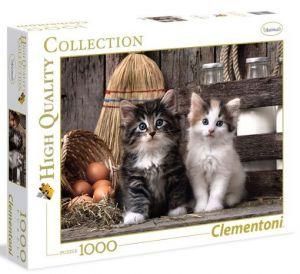 Puzzle CLEMENTONI 1000 dílků - Milá koťátka 39340
