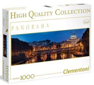 Puzzle CLEMENTONI 1000 dílků panorama - Řím  39343