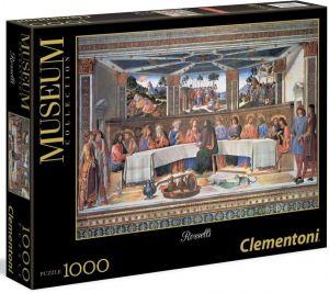 Puzzle Clementoni 1000 dílků - Rosselli  - Poslední večeře