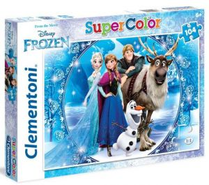 Puzzle Clementoni  - 104 dílků  -  Frozen  27956