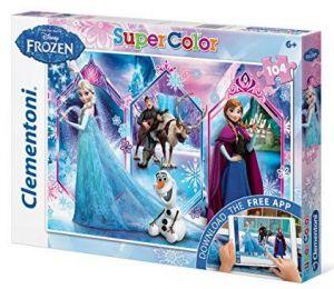Puzzle Clementoni - 104 dílkú  s aplikací -  Frozen  20703