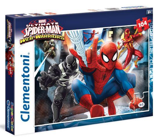 Puzzle Clementoni 104 dílků - Spiderman 27958