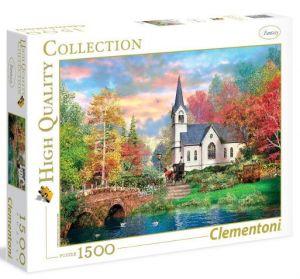 Puzzle Clementoni 1500 dílků  - Barevný podzim 31675