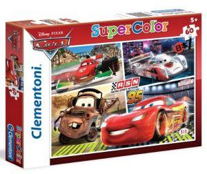 Puzzle Clementoni  60 dílků  Cars  26953