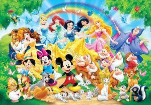 Puzzle Clementoni 60 dílků Disney rodina 26952