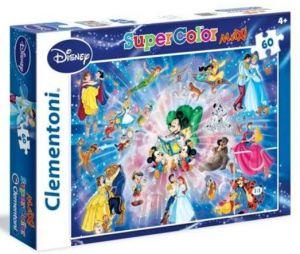 Puzzle Clementoni 60 dílků MAXI   -  Disney Family   26407