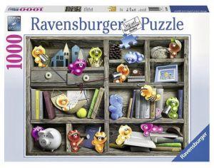 Puzzle Ravensburger 1000 dílků - V knihovně 194834