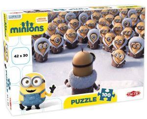Puzzle Tactic 100 dílků - Minions - Audience   53381