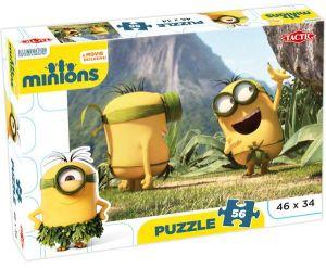 Puzzle Tactic 56 dílků - Minions - Banán   53102a