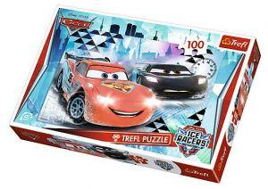 Puzzle Trefl 100 dílků - Cars 2 - Ledové dobrodružství  16290