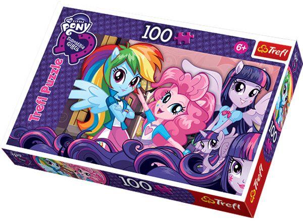 Puzzle Trefl 100 dílků - Equestria Girls - Po škole 16253